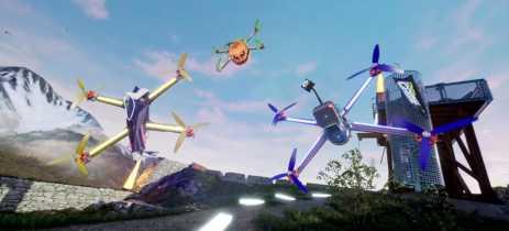 DCL é o simulador de corridas de drones que pode te levar para competições reais