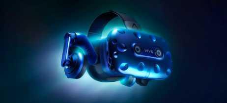 HTC anuncia o Vive Pro, seu novo e potente headset de realidade virtual