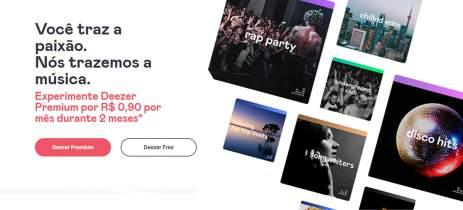Deezer oferece planos do catálogo por R$ 1,80 nos primeiros 2 meses de assinatura