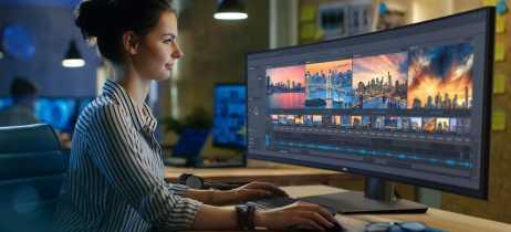 Dell anuncia o U4919DW, o primeiro monitor ultrawide de 49'' com resolução QHD