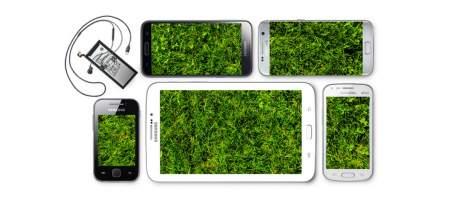 Samsung possui pontos de coleta para o descarte de eletrônicos