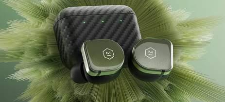 Master & Dynamic MW08 Sport: fone Bluetooth tem case de Kevlar e base com dissipador
