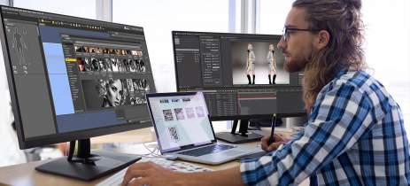 ViewSonic apresenta novos monitores ColorPro com resoluções 2K e 4K