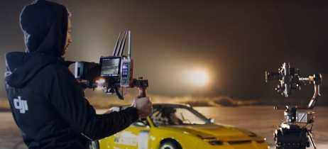 DJI anuncia os controladores de câmera Master Wheels e Force Pro