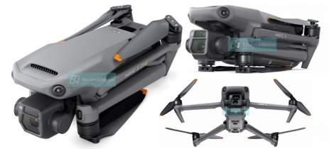 Conheça em detalhes o drone DJI Mavic 3 através de novas renderizações vazadas