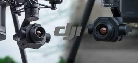 Zenmuse XT S é a nova câmera térmica da DJI para os drones da série Matrice 200!