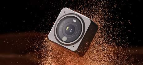 Câmera de ação DJI Action 2 à venda por US$ 495 (R$2.898) no Aliexpress