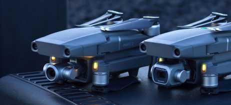 Drones da DJI voam um total de 114 milhões de km no período de um ano