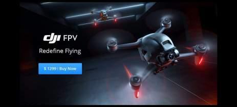 DJI FPV Drone - Drone FPV voando como MAVIC ajudará a popularizar esse segmento