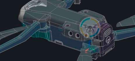 Tecnologias que podemos ver no drone DJI Mavic 3 - Veja fotos de conceito