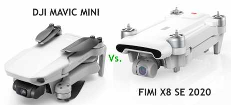 DJI Mavic Mini vs Xiaomi FIMI X8 SE 2020: Qual o melhor drone baratinho?