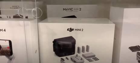 Unboxing do drone DJI Mavic Mini 2 revela câmera 4K, até 10km e novo controle