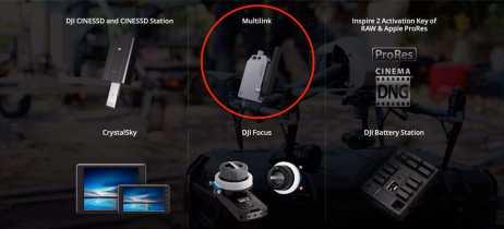 Acessório de controle avançado para Inspire 2, DJI Multilink, já está disponível por US$99