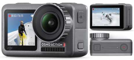 DJI OSMO Action é anunciada por US$349, concorrente direta da GoPro HERO 7 Black