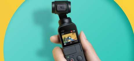 DJI Osmo Pocket é anunciado por US$349, um gimbal super compacto com câmera 4K 60fps