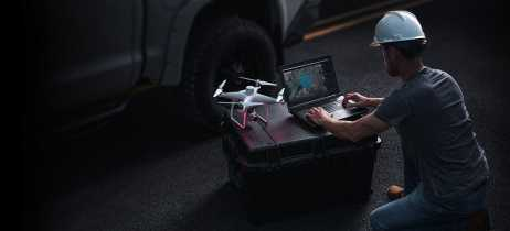 Software DJI Terra transforma dados capturados por drones em modelos 3D