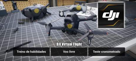 DJI Virtual Flight é o simulador de treino para drones FPV da DJI - DOWNLOAD