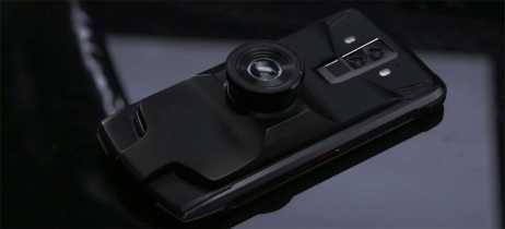 Doogee lança smartphone modular S90 com câmera noturna, walkie-talkie e mais
