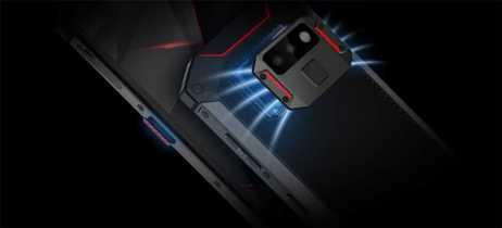 Smartphone para gamers Doogee S70 será financiado no Indiegogo