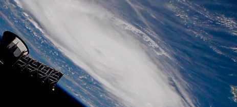 Furacão Dorian é assustador visto da estação espacial internacional