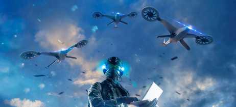 Criminosos usaram enxame de drones para distrair agentes do FBI