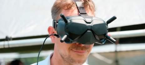 Drone FPV da DJI acompanha óculos e controle, revela novo vazamento de imagens