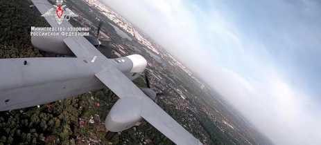 A Rússia tem drones para guerra e faz suas primeiras demonstrações