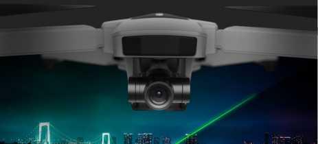 Drone Ubsan Zino 2 grava em 4K60fps, tem gimbal de 3 eixos e voa por 33 minutos custando menos de US$500