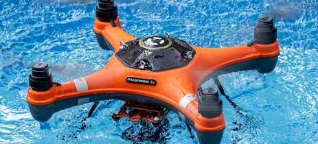 SwellPro lança drones à prova d'água para pesca e esportes radicais