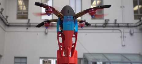 Drone pode ser lançado como bala de canhão para decolar