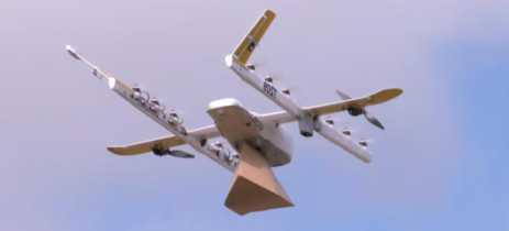 Drone de entrega da Google começa a operar nos EUA
