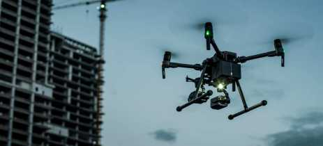 Dji anuncia detector de gás metano e holofote gimbal para seus drones Matrice