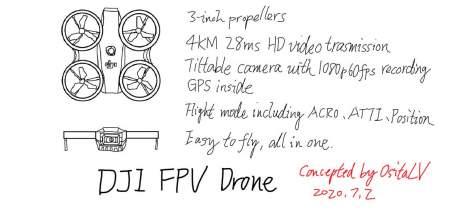 DJI pode estar desenvolvendo drone FPV com GPS e sistema fácil de pilotar