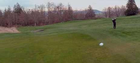 Piloto usa drone FPV para acompanhar o trajeto de bola de golfe; veja o vídeo