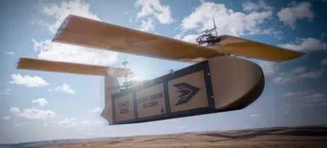 Drone silencioso de carga ganha destaque por sua engenhosidade