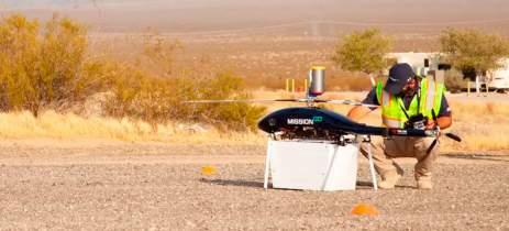 Drone transportou córneas e rins por 16,5km em 25 minutos para transplantes