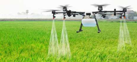 Governo japonês, em parceria com a DJI, está investindo em drones agrícolas