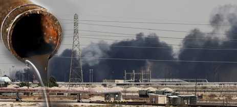Ataques de drones em petrolíferas sauditas causam disparo no preço global do petróleo