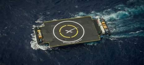 Space X droneship: balsa que navega sozinha, entenda como!