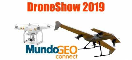Evento DroneShow e MundoGEO Connect PLUS vai ser em São Paulo do dia 5 a 7 de novembro