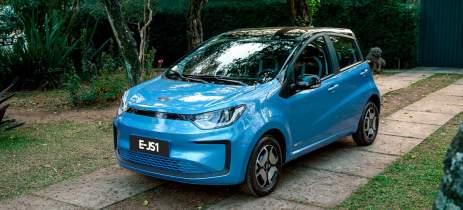 JAC E-JS1 é o carro elétrico mais barato do Brasil, ideal para o uso urbano