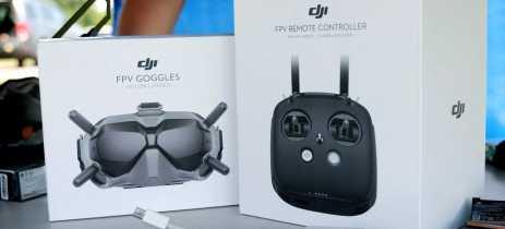Novo sistema FPV da DJI promete mudar o segmento de drones de alta velocidade