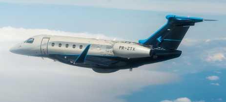 Embraer tem mudanças na administração financeira e de operações