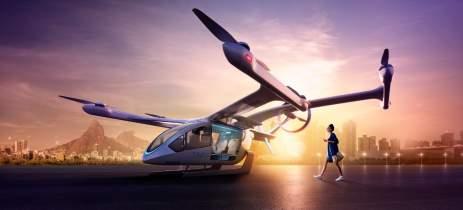 """Embraer vai testar rota de """"carros voadores"""" no Rio de Janeiro"""