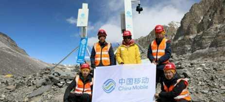 Acampamento Base no Monte Everest agora tem cobertura de rede 5G