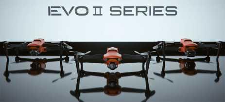 Autel confirma preços dos drones Evo II e Evo II Pro, iniciando em $1495 dólares