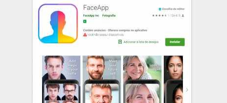 FaceApp, aplicativo que te deixa idoso, coleta muitos dados dos smartphones dos usuários