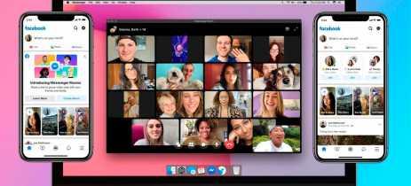 Facebook lança Messenger Rooms para competir com o Zoom: até 50 pessoas numa chamada
