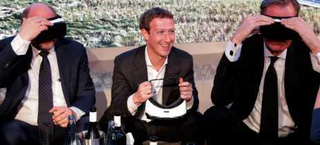 Facebook está trabalhando com a Ray-Ban no desenvolvimento de seus óculos inteligentes