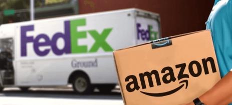 Ações da FedEx não atendem expectativas e empresa de entregas culpa Amazon